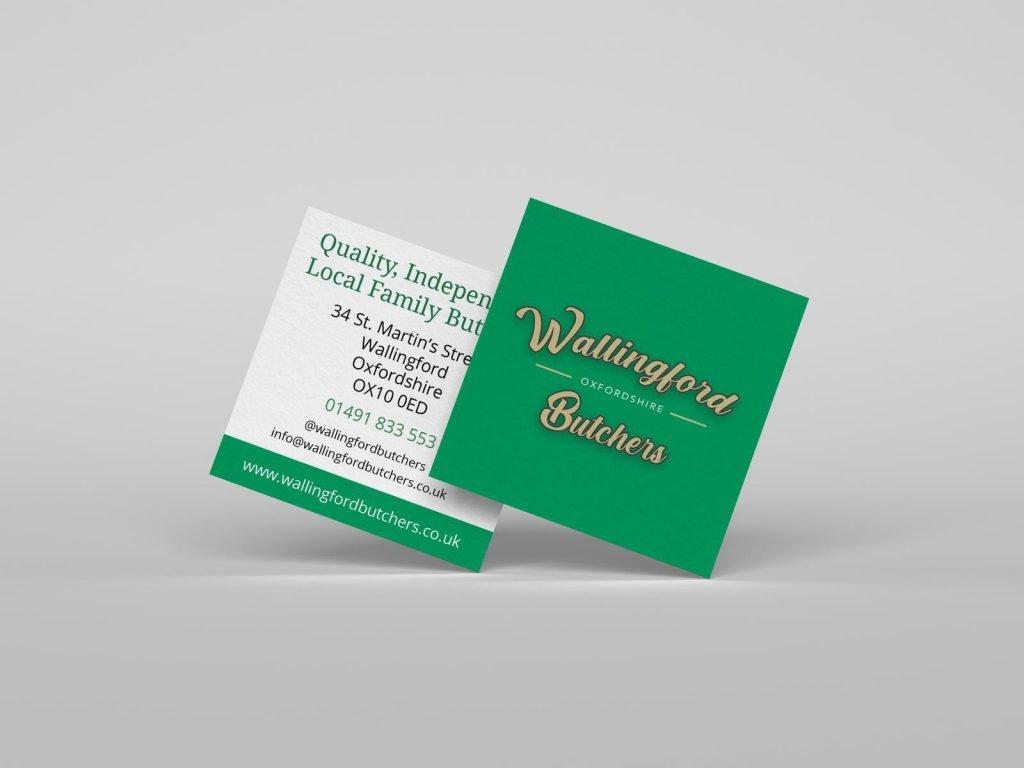 Oxfordshire Business Card Design